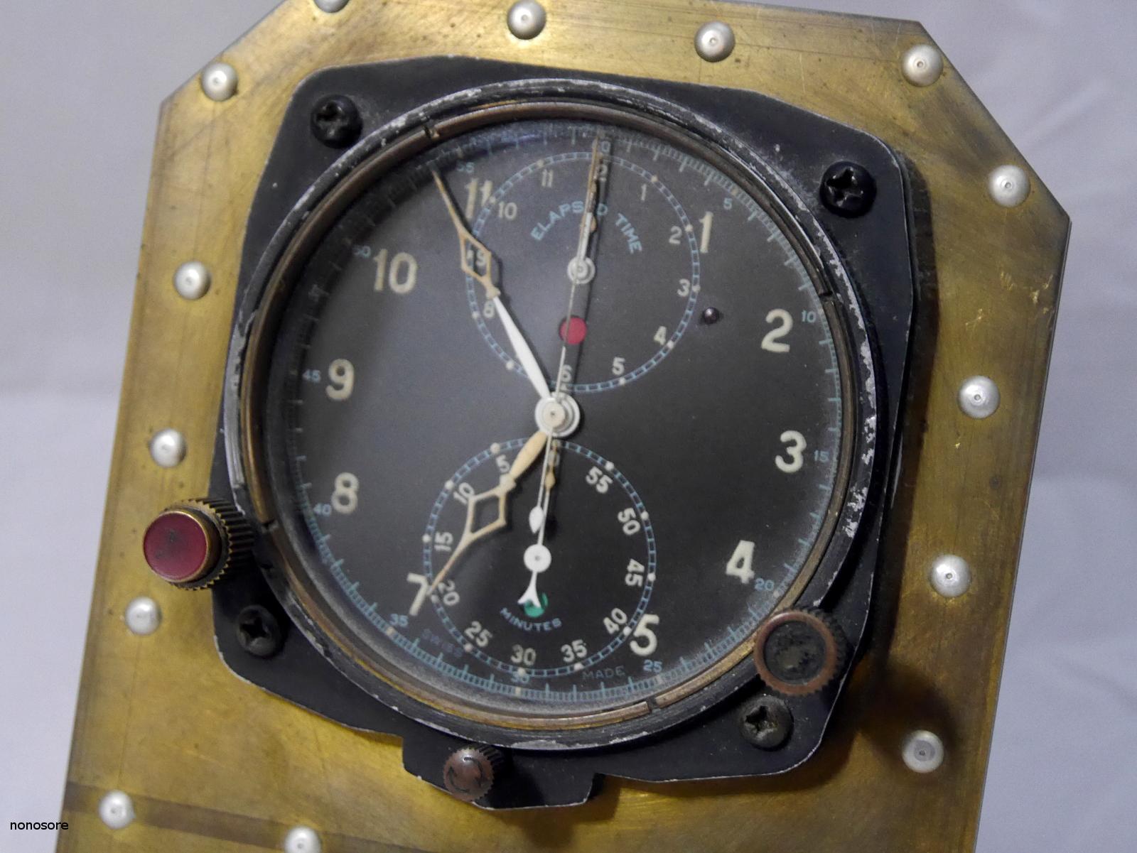 Horloges d'avions italiennes de la seconde guerre mondiale 6